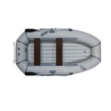 Надувная гребная лодка ФЛАГМАН 280 НТ Серо-синяя