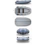 Надувная гребная лодка ФЛАГМАН 300 НТ Серо-синяя