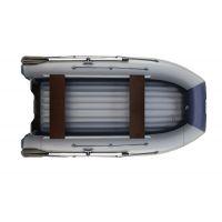 Двухкорпусная надувная лодка ФЛАГМАН DK 350 Серо-синяя