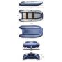 Надувная моторная лодка ФЛАГМАН 360 U Пиксель