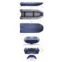 Водометная надувная лодка ФЛАГМАН DK 370 IGLA Jet Серо-синяя