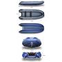 Надувная моторная лодка ФЛАГМАН 380 IGLA Серо-синяя