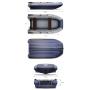 Двухкорпусная надувная лодка ФЛАГМАН DK 380 Серо-синяя