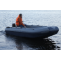 Двухкорпусная надувная лодка ФЛАГМАН DK 390 IGLA Серо-синяя