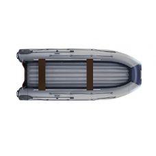 Двухкорпусная надувная лодка ФЛАГМАН DK 410 IGLA Серо-синяя