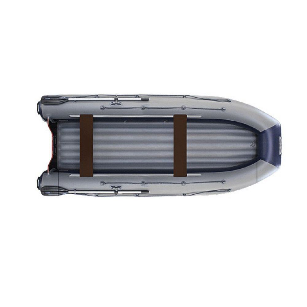 Водометная надувная лодка ФЛАГМАН DK 410 IGLA Jet Серо-синяя