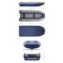 Двухкорпусная надувная лодка ФЛАГМАН DK 430 IGLA Пиксель