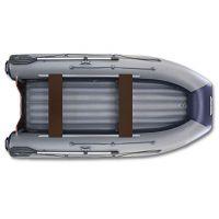Двухкорпусная надувная лодка ФЛАГМАН DK 320 Серо-синяя