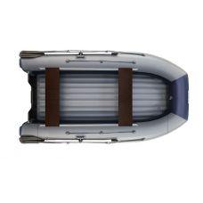Водометная надувная лодка ФЛАГМАН DK 350 Jet Серо-синяя