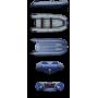 Надувная моторная лодка ФЛАГМАН 350 Серо-синяя