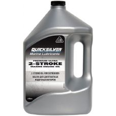 Масло для 2-тактных моторов Quicksilver Premium Ultra TC-W3, 4 л