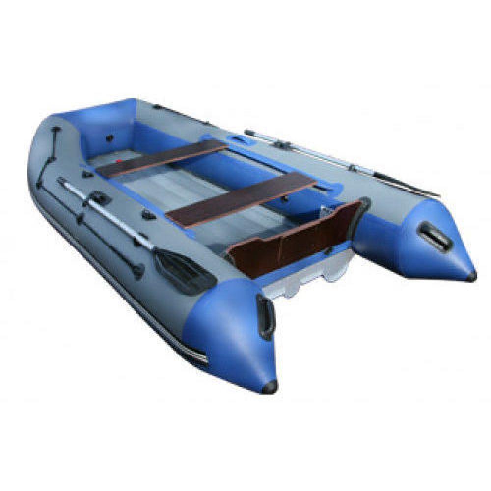 Лодка надувная моторная ПВХ НДНД Reef тритон 390нд