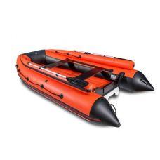 Лодка надувная моторная ПВХ НДНД Reef тритон 420Fнд