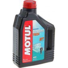 Масло для 2-тактных моторов Motul Outboard Tech 2T, TC-W3, 2 л