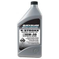 Полусинтетическое масло Quicksilver 10W-30 для 4-тактных подвесных моторов, 1 л