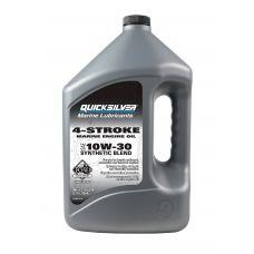 Полусинтетическое масло Quicksilver 10W-30 для 4-тактных подвесных моторов, 4 л