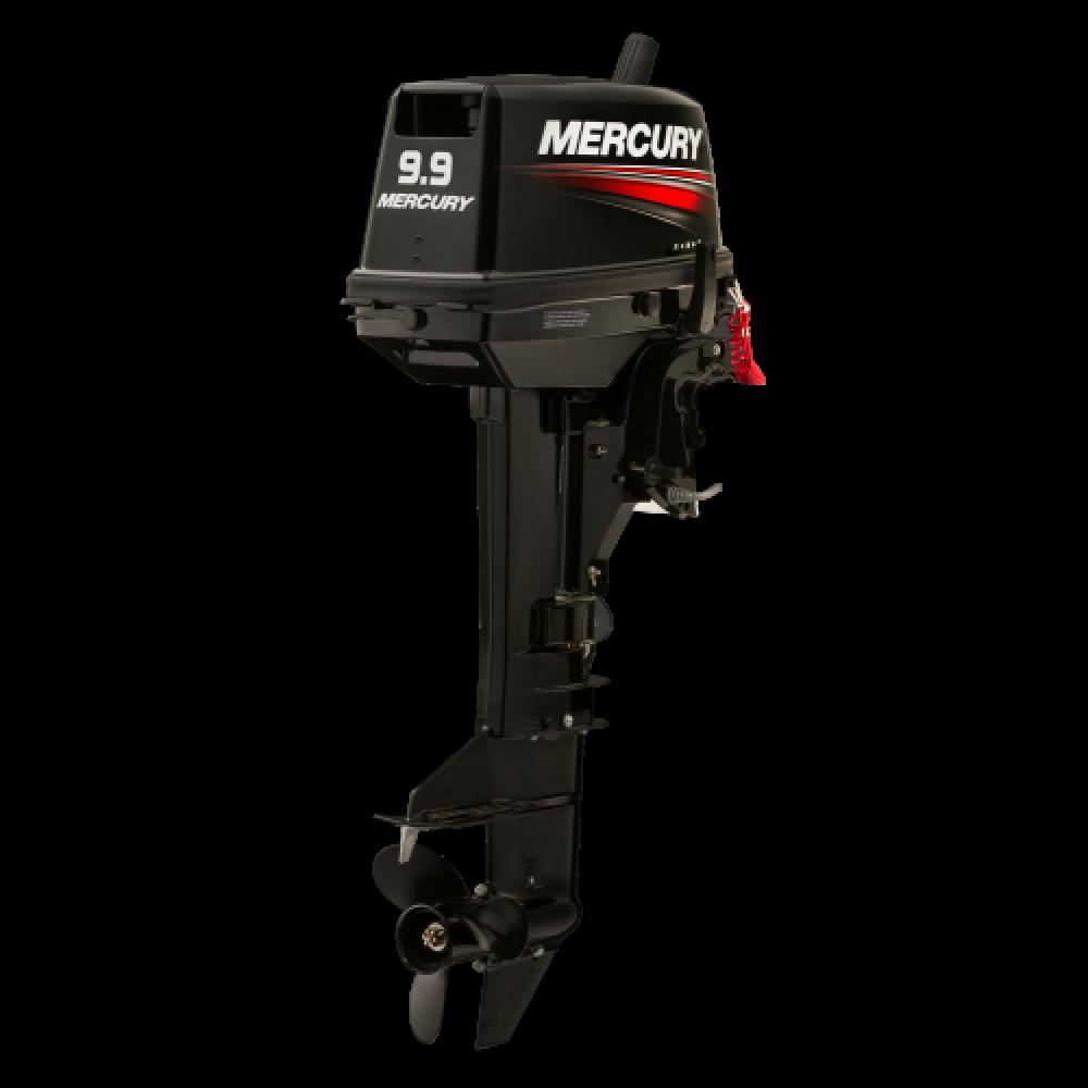 Комплект мотор Mercury 9.9MH light 169СС и лодка Reef 335нд