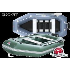 Лодка надувная гребная ПВХ Yukona 280GT