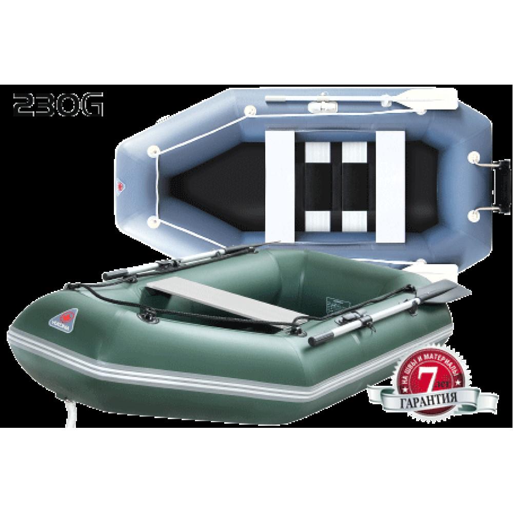 Лодка надувная гребная ПВХ Yukona 230G