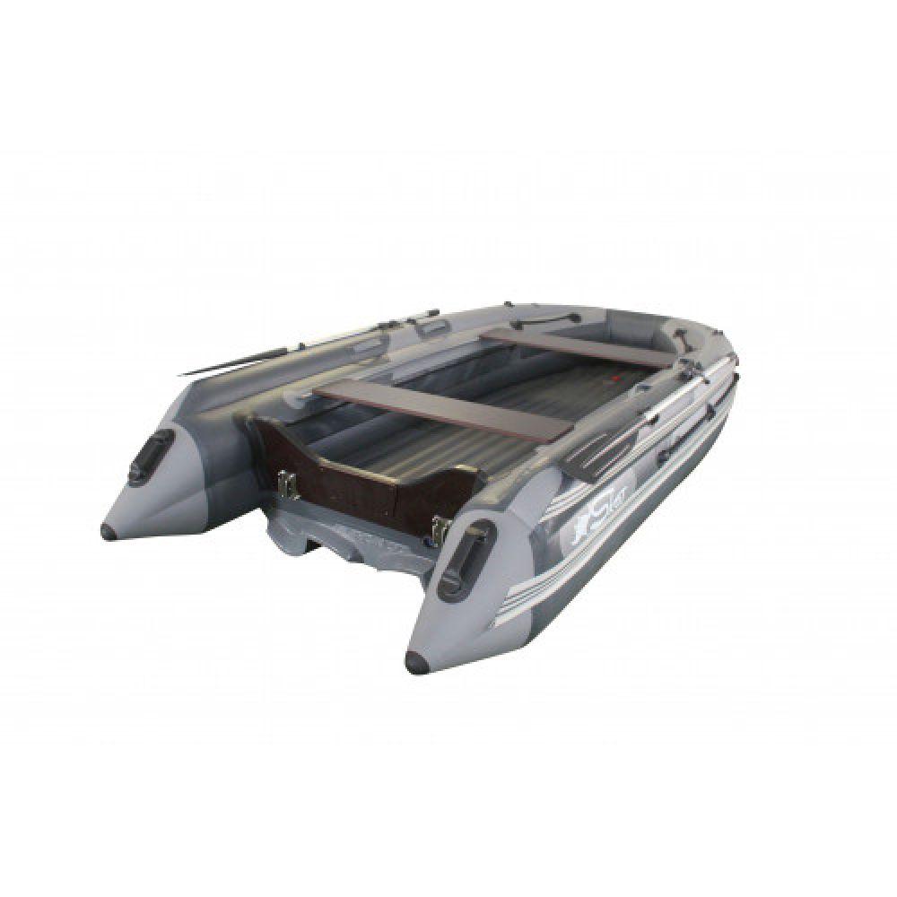 Лодка надувная моторная ПВХ НДНД Skat 370NDFi