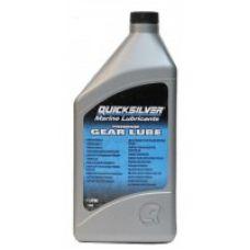 Трансмиссионное масло Quicksilver Gear Lube 80W-90, 1 л