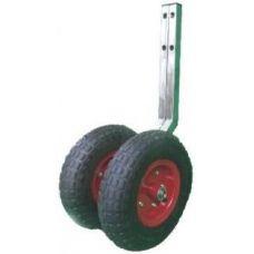 Съемные транцевые колеса. Диаметр - 330 мм. Профиль 1,5 мм.