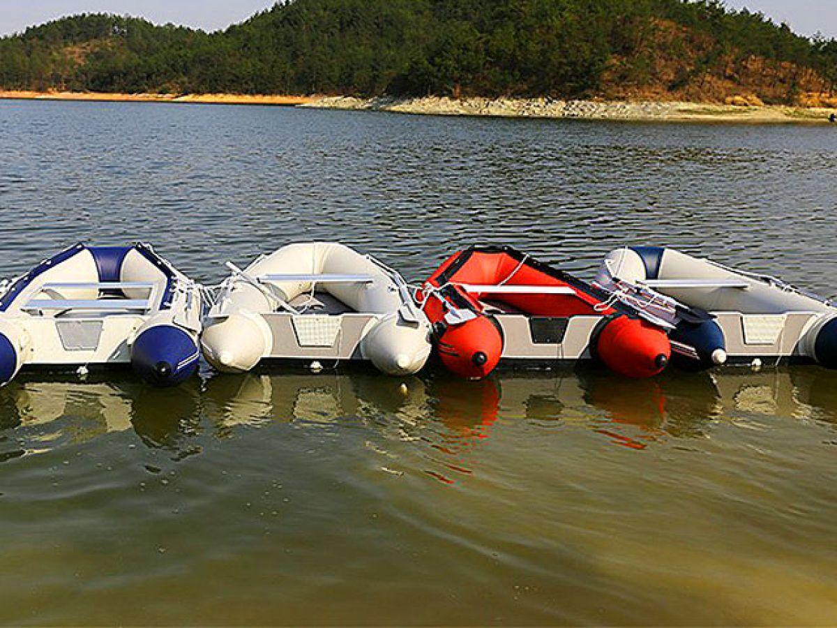 ТОП-5 ПВХ-лодок для рыбалки