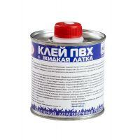 Клей ПВХ 2 в 1: жидкая латка-герметизатор + клей ПВХ, бесцветный, 250мл